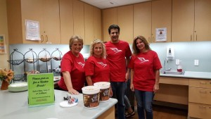 US Med-Equip staff volunteer with the Houston Ronald McDonald House!